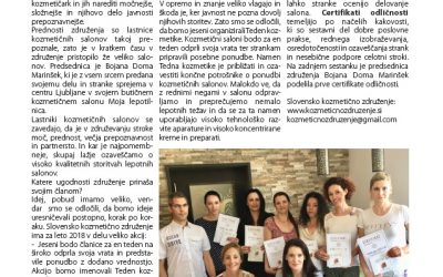 Revija Dermanova piše o nas
