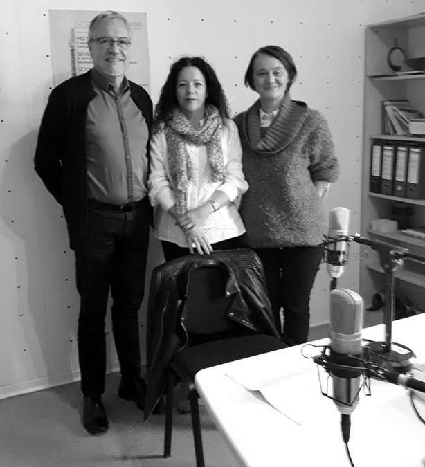 Pogovorna oddaja na radiu Primorski val in radiu Koper