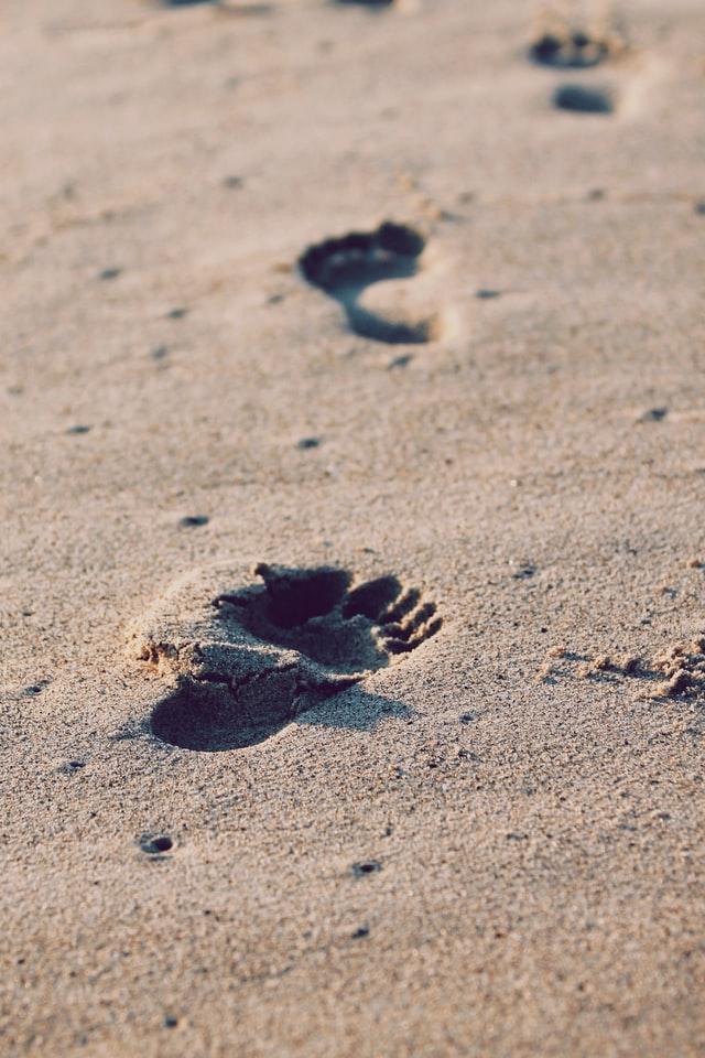 Pedikura na morju ali pred morjem?